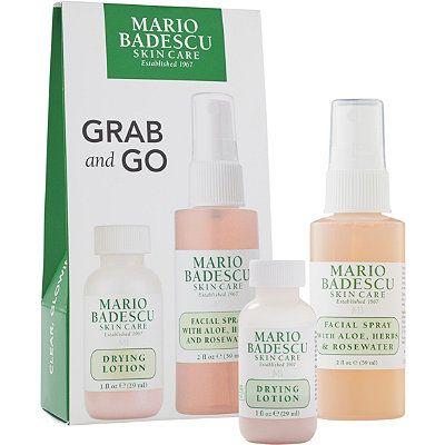 Mario Badescu Grab And Go Travel Set Travel Set Oil Based