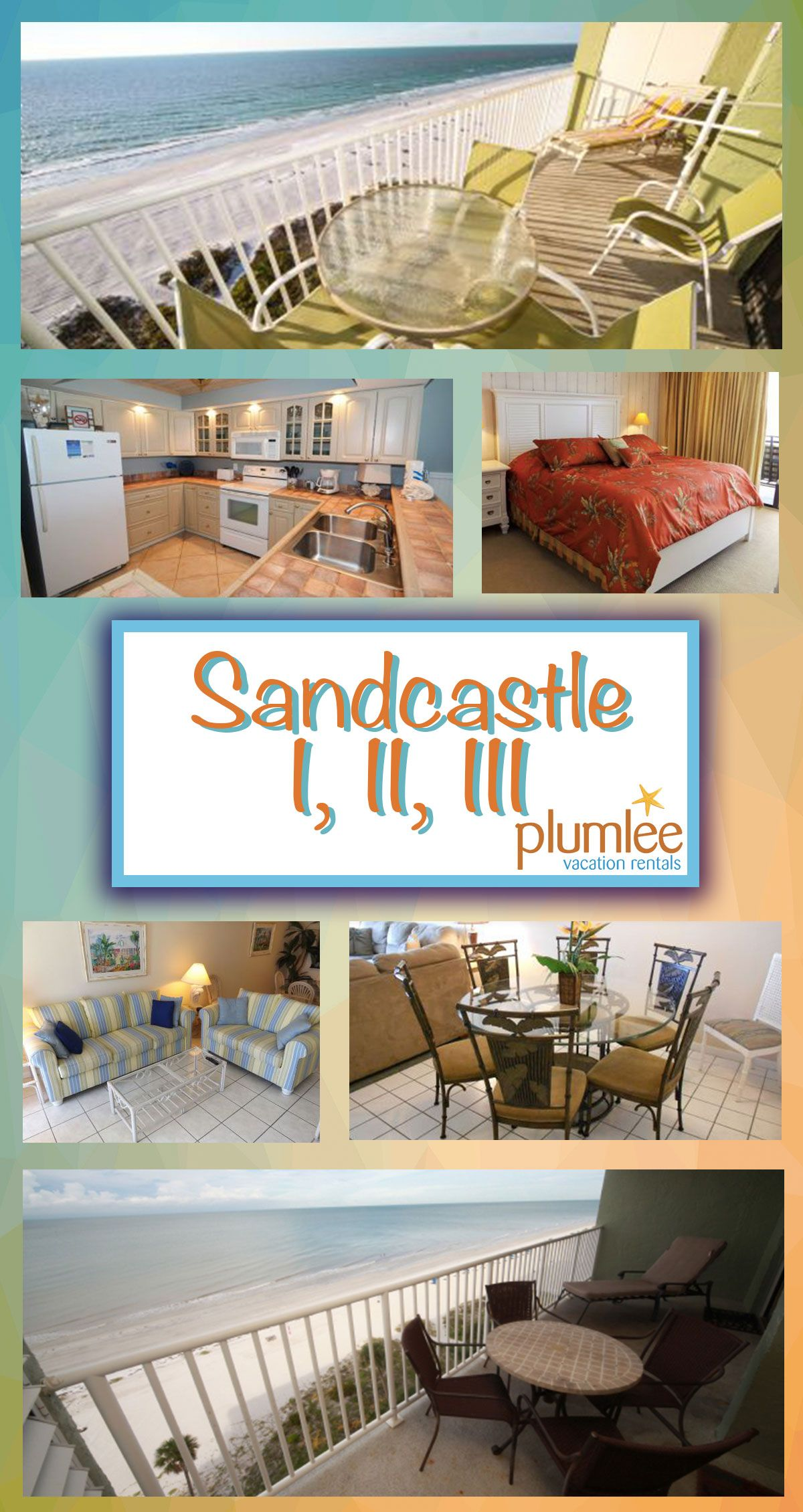 Availibility For Sandy Castle Gulf Shores Al Vacation Rental: Three Of The Most Popular Gulf Front Vacation Buildings In