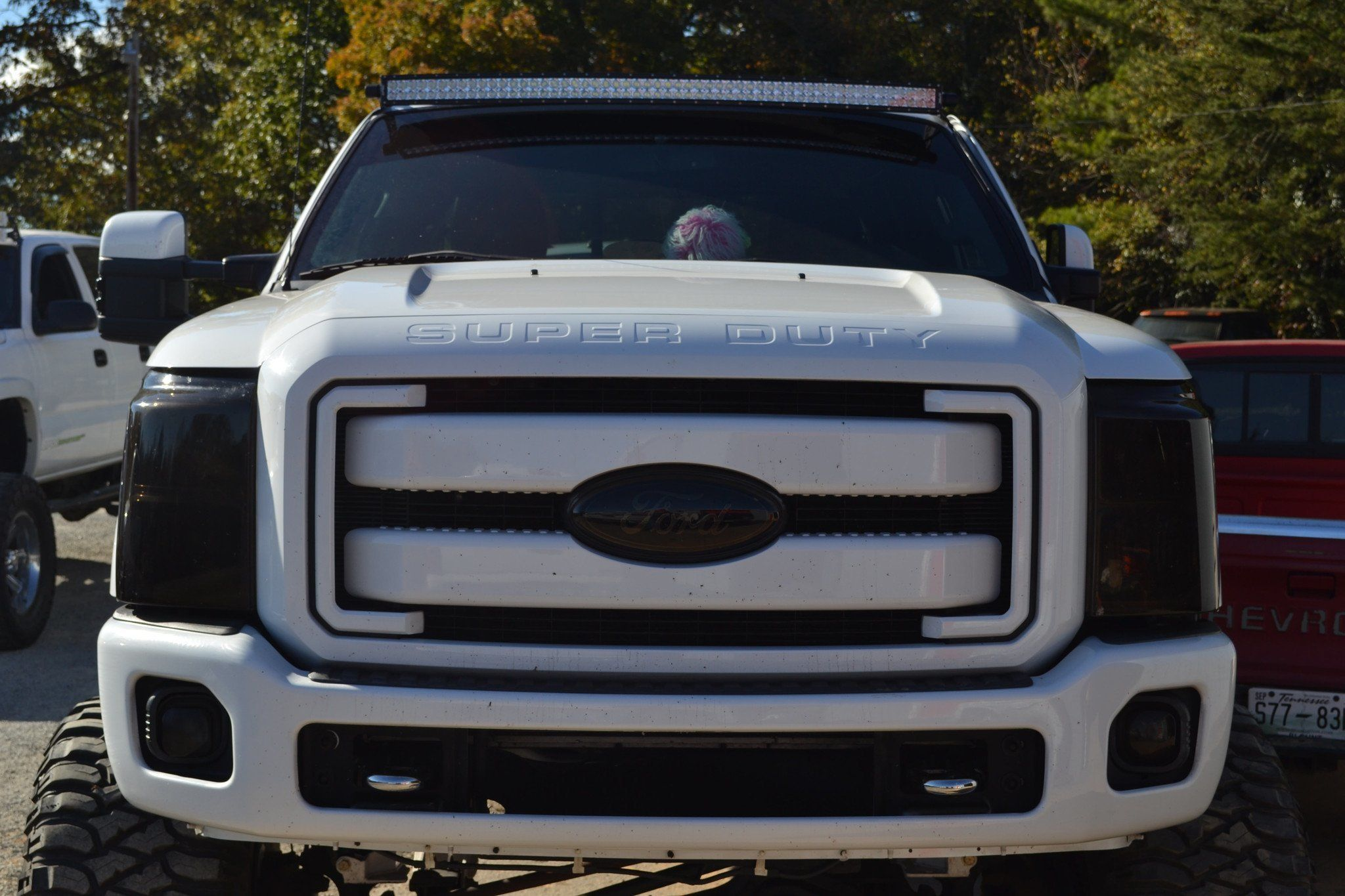 99 15 ford super duty apoc roof mount and light bar kit