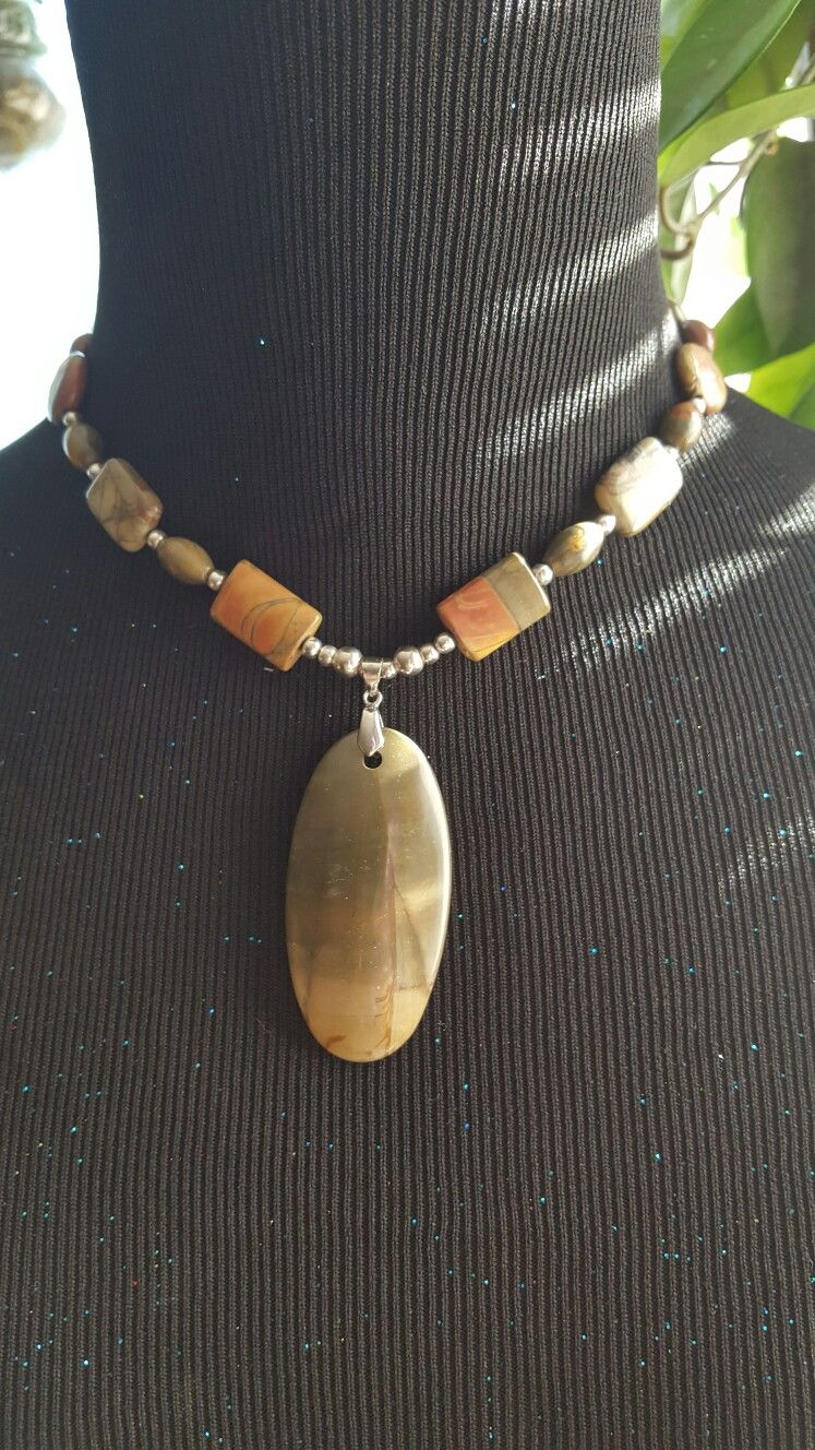 Picasso Jasper Necklace  $30 buy or trade
