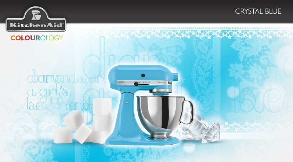 Crystal Blue #KitchenAid #StandMixer