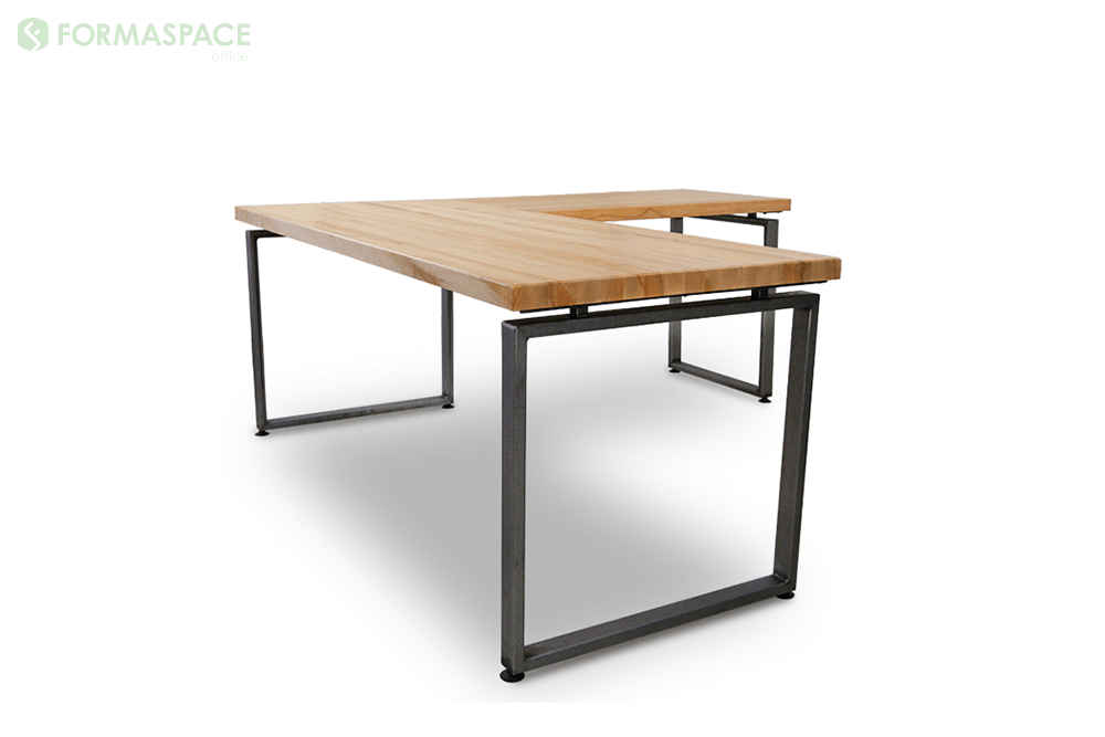 Weldmarx Vi Formaspace Office 60 X 30 Maple Top Main Work Surface With 42 X 24 Return On The Right Hand Side 16 Gaug Home Decor Furniture Work Surface
