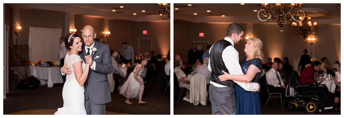 A J Wedding Reception Montdale Country Club