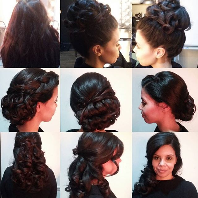 3 styles for @sonsai_xo  #bridalupdo #bridal #updo #prettyful #prettyfultoronto @prettyfultoronto