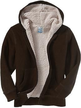 Boys Sherpa Lined Hoodies Old Navy Clothes For The Kiddo