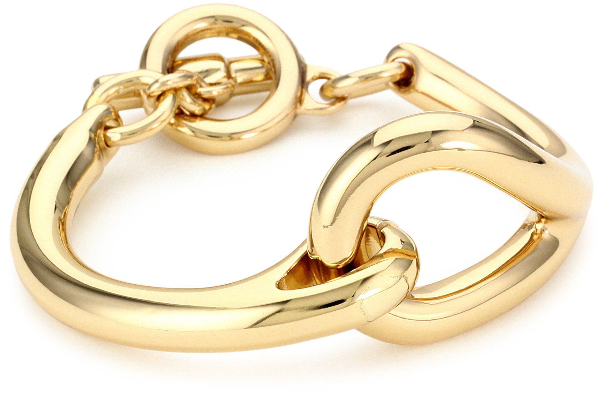 Vita fede knot rose bracelet knot bracelet in k goldplated brass