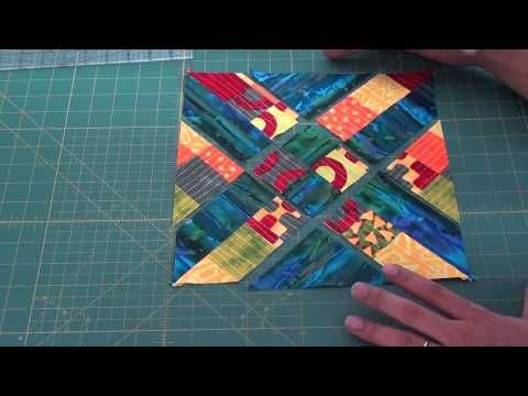 Block The Arrowhead Bloco Ponta De Flecha Quilt Tutorial Video Quilt Tutorials Quilting Videos