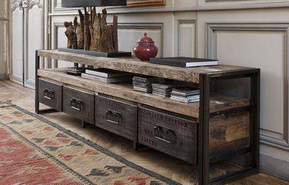 D co tendance faire du vieux avec du neuf deco fr le vieux et neuve - Renovation meuble industriel ...