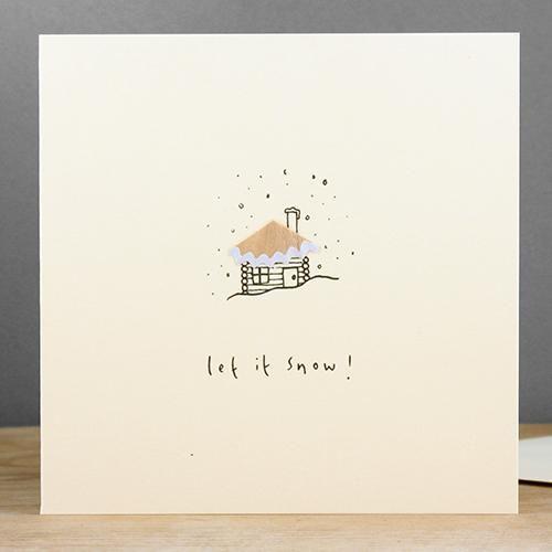 log-cabin-pencil-shaving-christmas-card-by-ruth-jackson-12042276-0-1434325424000.jpg (500×500)