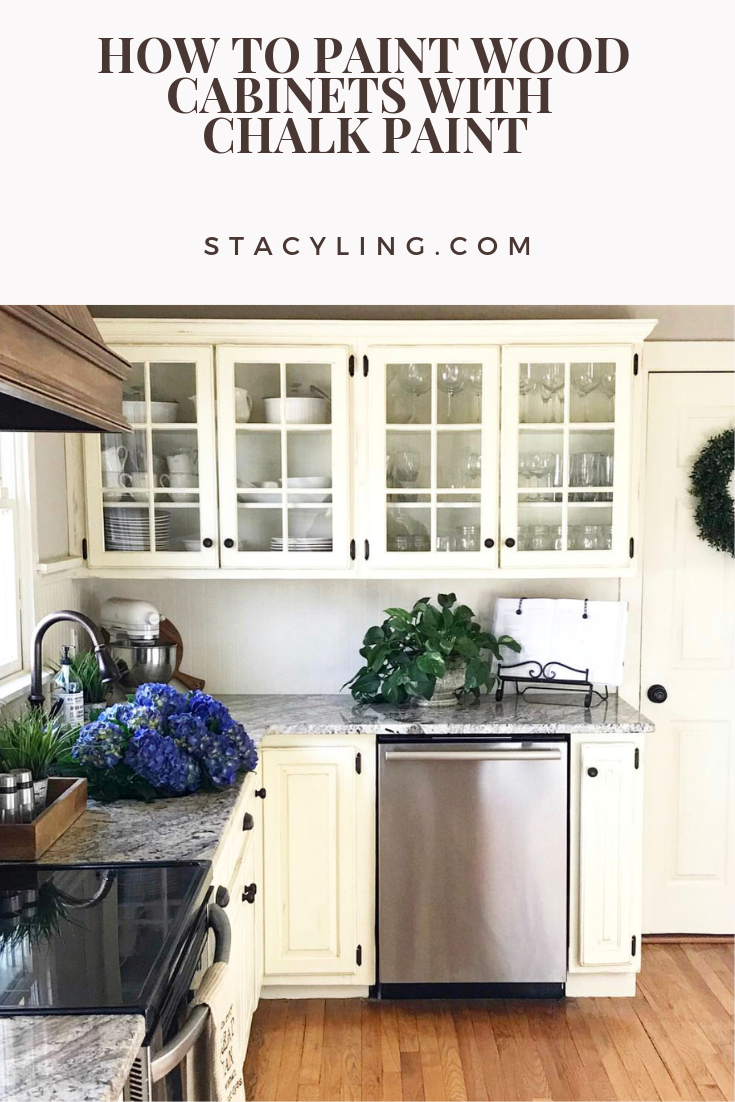 Inexpensive And Achievable Diy Kitchen Renovation Using Chalk Paint