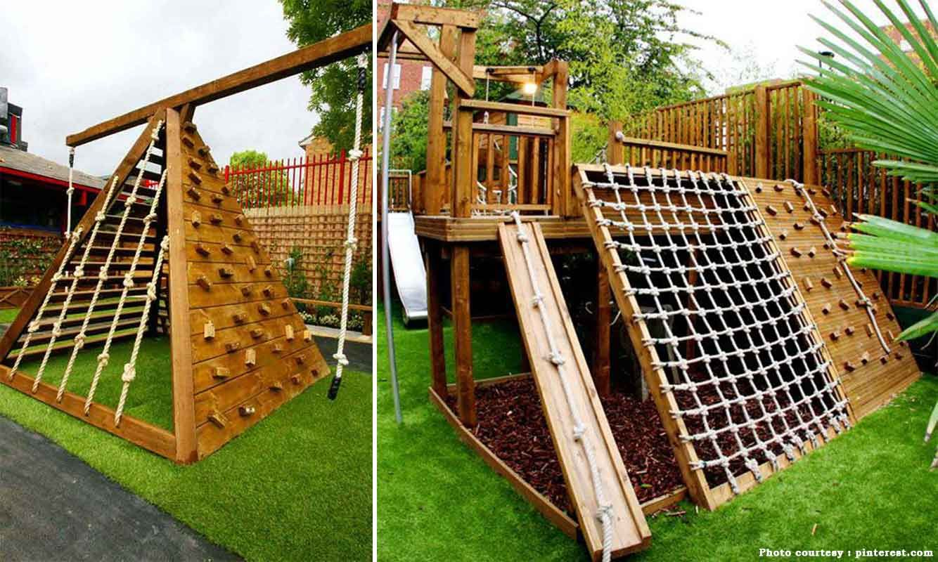 Back Yard Climbing Structures | 8 ideas to create a smart ...