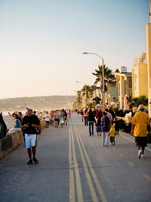 San Diego is a perfect spot for an active vacation. Enjoy the gorgeous weather and beaches  go for a swim, build sandcastles, or jet ski.