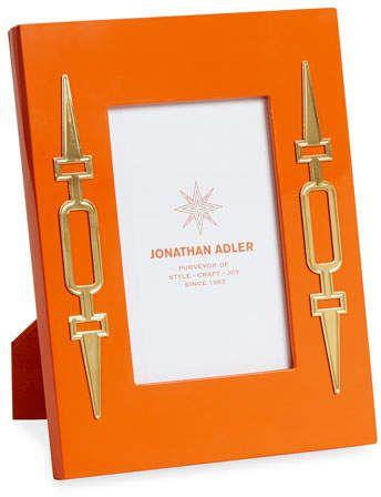 Jonathan Adler Turner Lacquer Frame, Orange, 4\