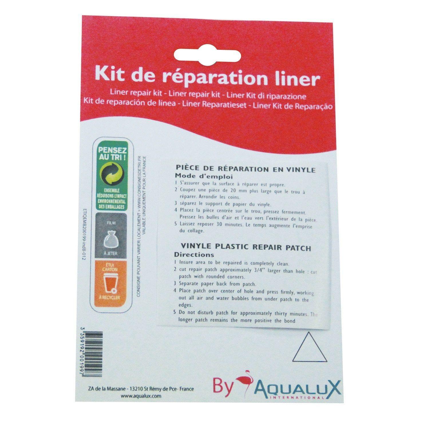 Kit D Entretien Pour Couverture De Piscine Aqualux Couverture De