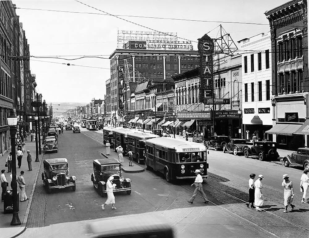 Market Street Chattanooga 1930 S Chattanooga Tennessee