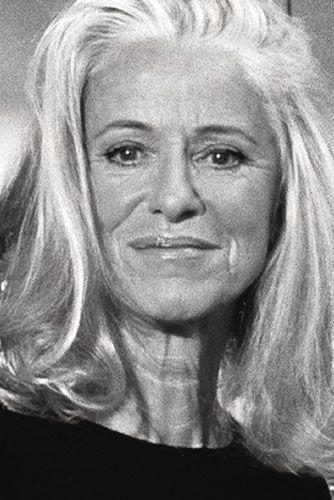 iris von arnim german fashion designer born in 1945 68 years old gray is the new blonde. Black Bedroom Furniture Sets. Home Design Ideas