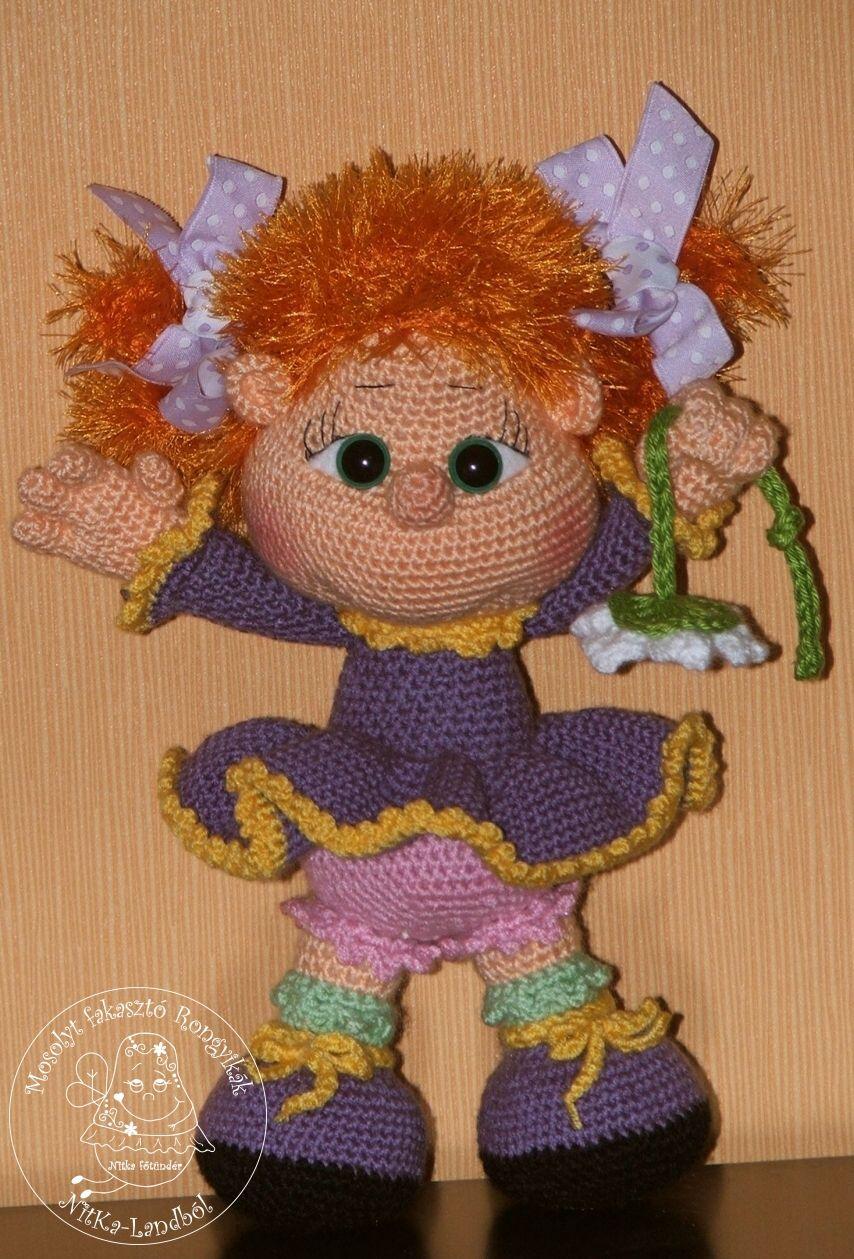 Olívia | NitKa-Land IV. Crochet Dolls / horgolmányok | Pinterest ...
