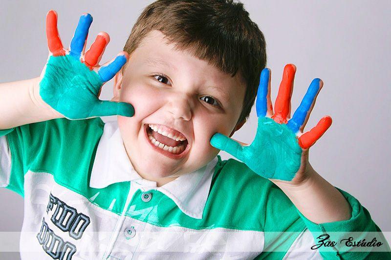 Book Fotográfico de Crianças - ZAS Estúdio - Rua 7 de setembro, Blumenau/SC. - Tel: (47) 3037-3070  - www.zasestudio.com.br