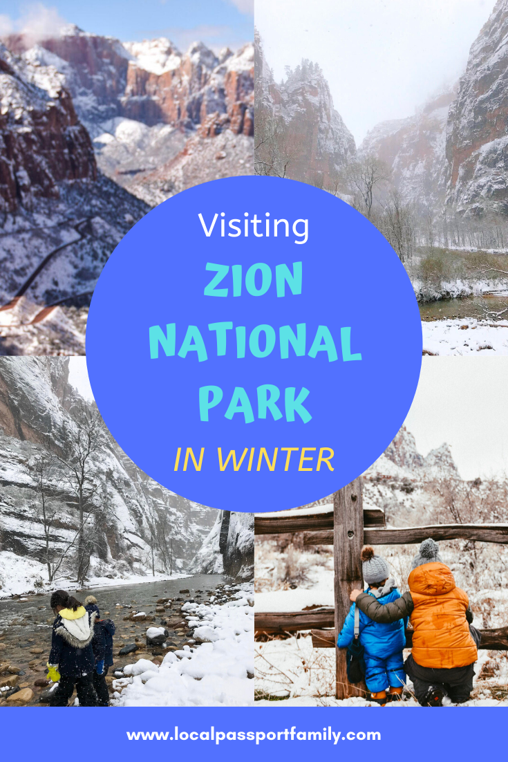 Zion National Park Winter Visit in 2020   Yellowstone trip ...