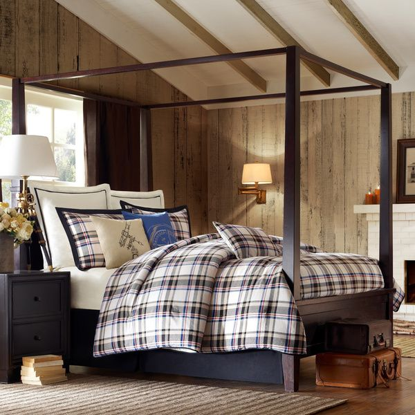 Show Off Your Adventurous Side With The Woolrich Big Sky Comforter Set.