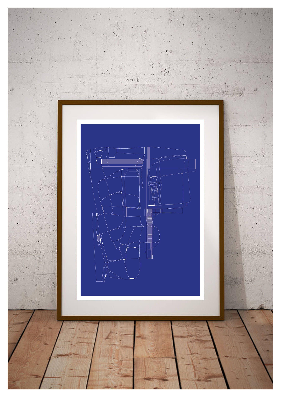 Diagram line art print diagram line prints diagram line wall art