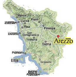 Visit ArezzoDiscover Arezzo in Tuscany Italy Toscana Pinterest