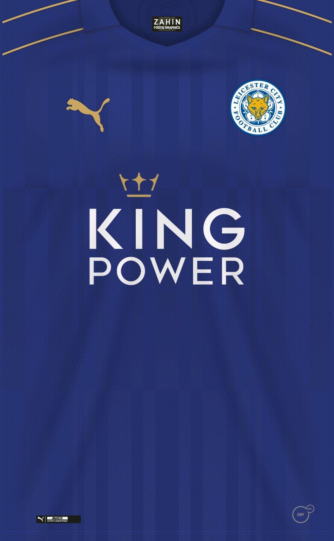 Leicester City 16 17 Kit Home Com Imagens Camisas De Futebol Uniformes Futebol Camisa De Futebol