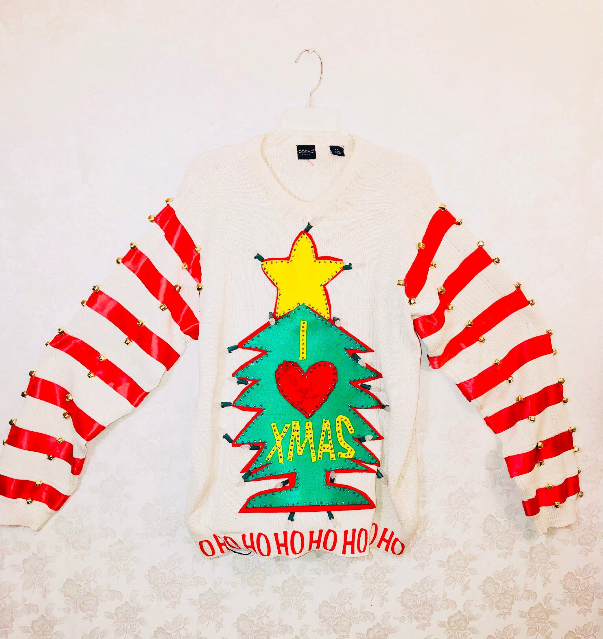 Mens 3x Ugly Christmas Sweater.This Christmas Be The Cheermeister Of Whoville In Your Very Own