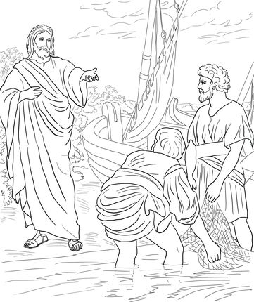 Click to see printable version of Jesus Calls the First