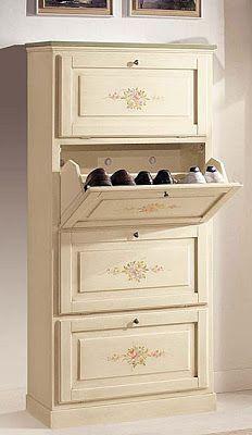 Muebles pr cticos por la decoradora experta zapateros for Gabinete de zapatos para la entrada