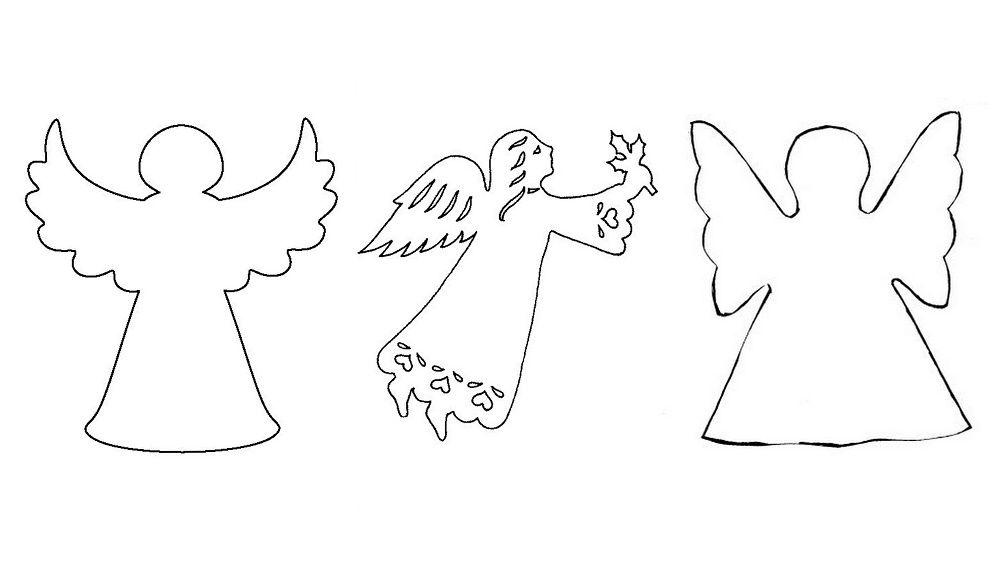последнее шаблоны для открыток ангелы вашему вниманию