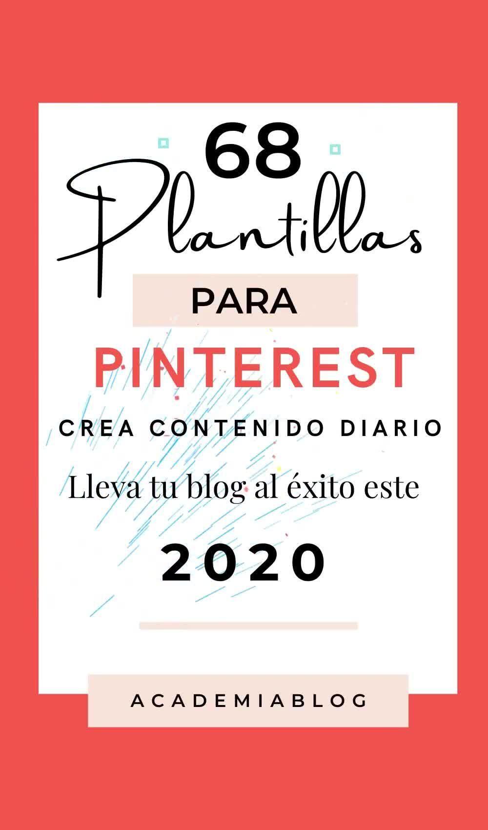 68 Plantillas Pinterest Kit Pro - Academia Blog