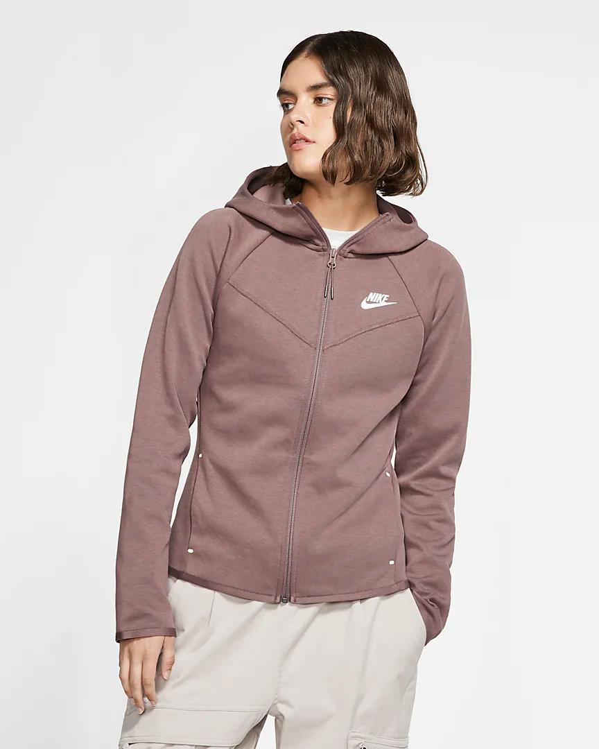 Nike Sportswear Windrunner Tech Fleece Women S Full Zip Hoodie Nike Hr Nike Sportswear Tech Fleece Hoodie Full Zip Hoodie [ 1080 x 864 Pixel ]