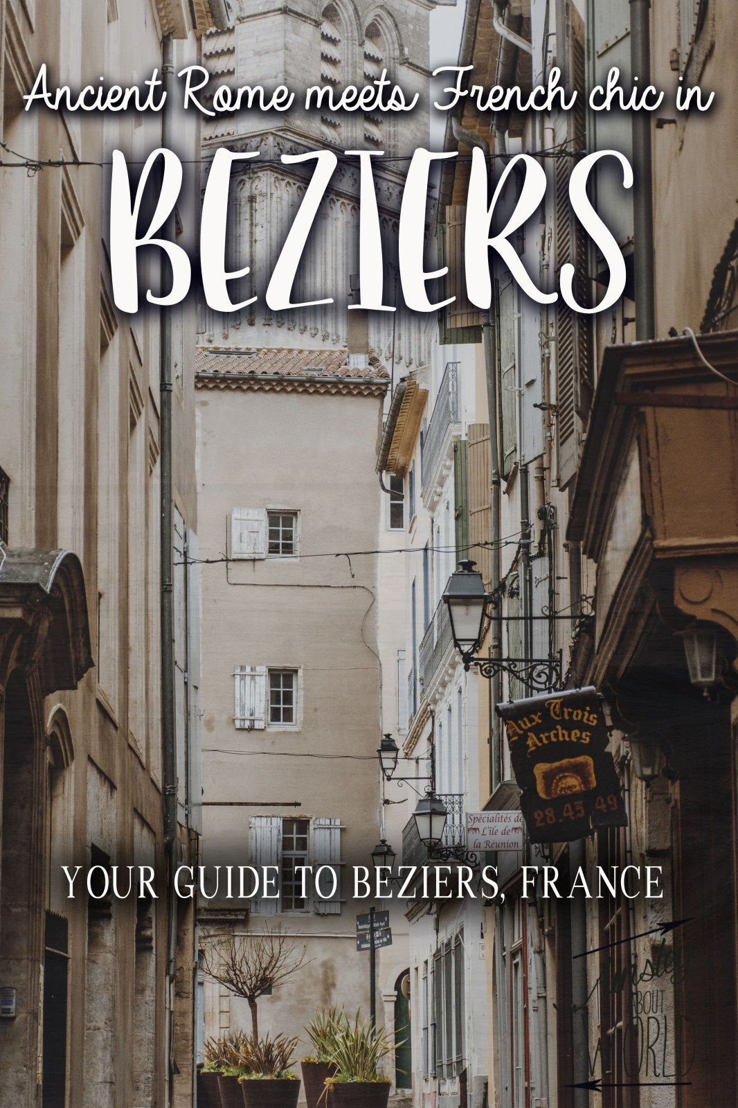 Where to find the best view in beziers | france travel, cool.