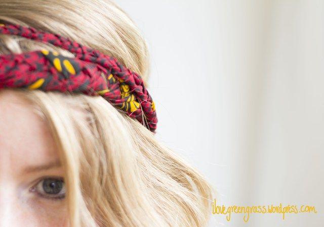 Ilona's Scrappy Summer Headband | Refashion Nation