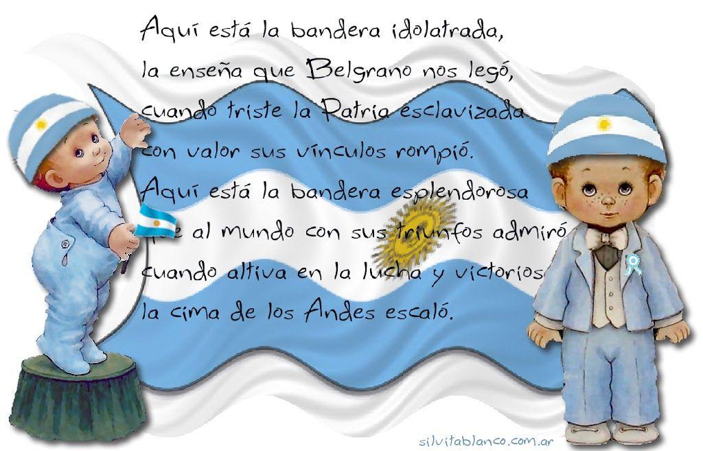 Bandera Argentina Día De La Bandera Poema De La Bandera Y