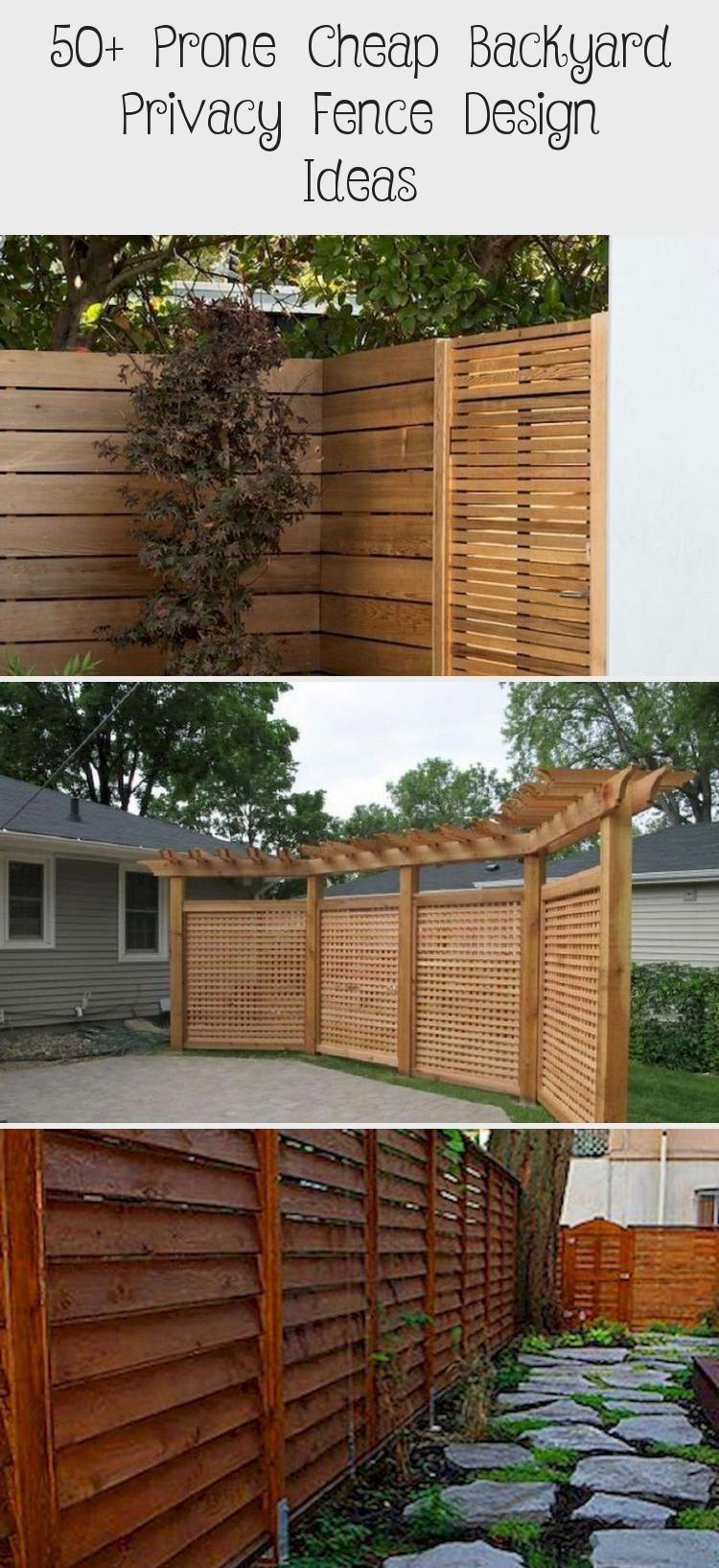 Photo of 50+ Prone Cheap Backyard Privacy Fence Design Ideas – Pinokyo