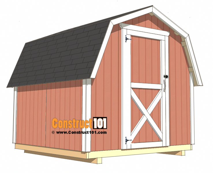 8x8 Shed Plans Small Barn Free Pdf Download Build The Best