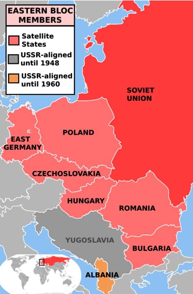 The Move To Independence Of The Eastern Bloc Nations In The Early