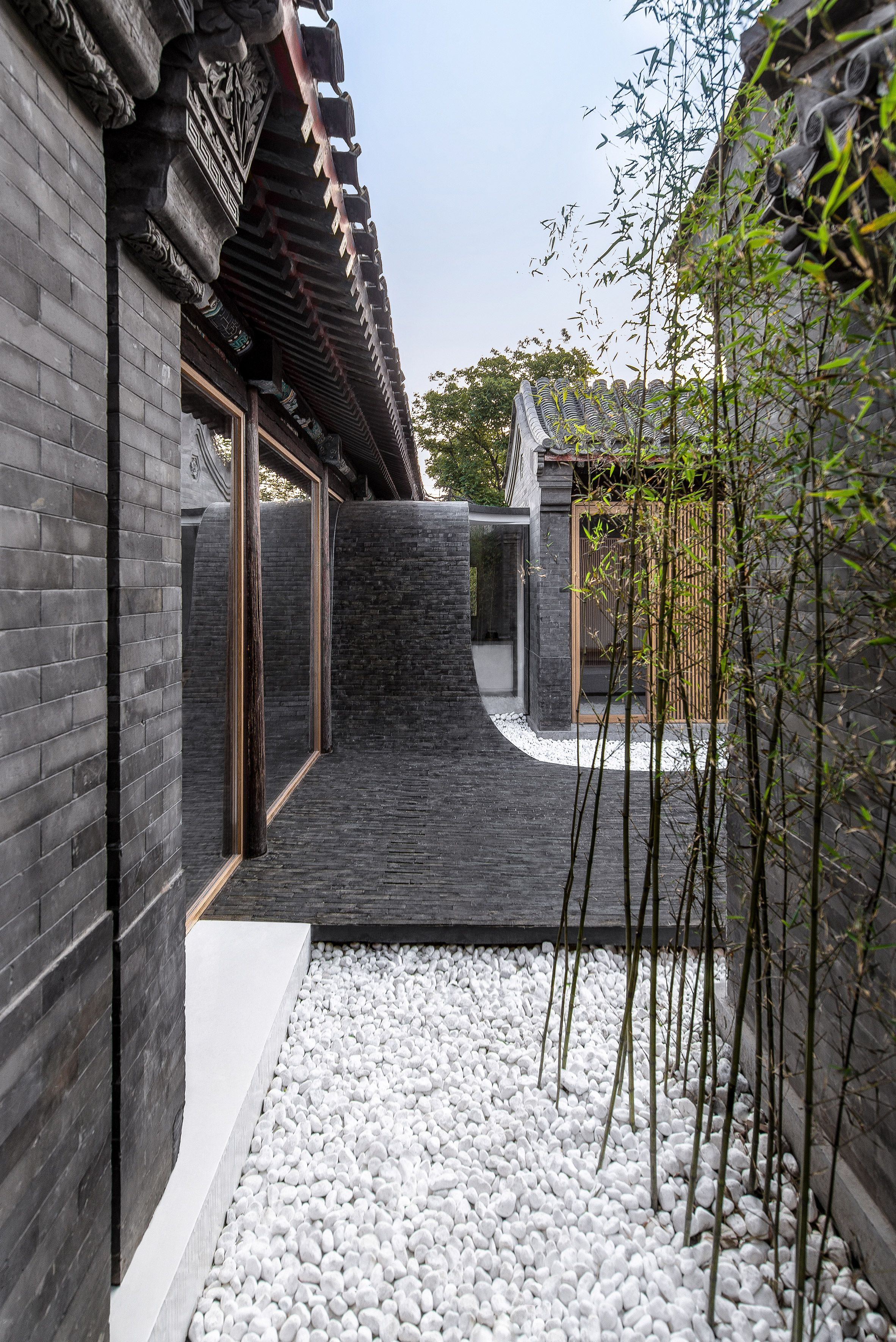 Beijing practice Arch Studio has renovated a traditional courtyard