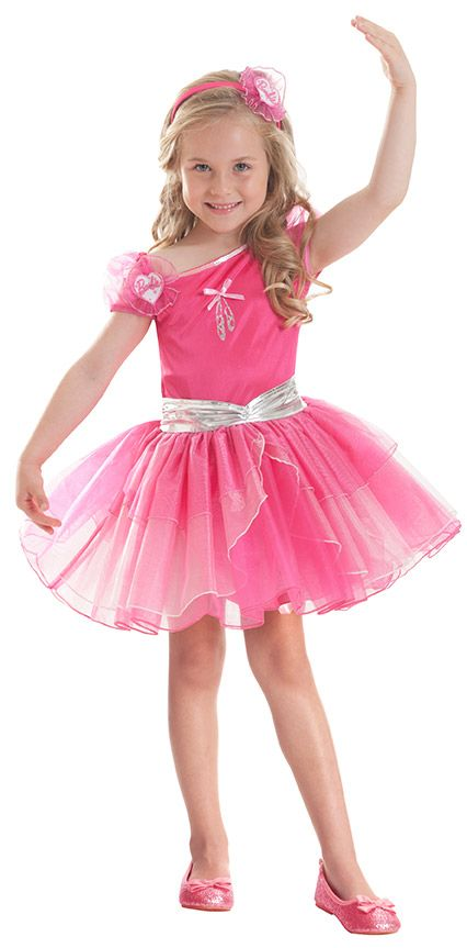Elegantes Barbie™-Kinderkostüm Ballerina pink , günstige ...