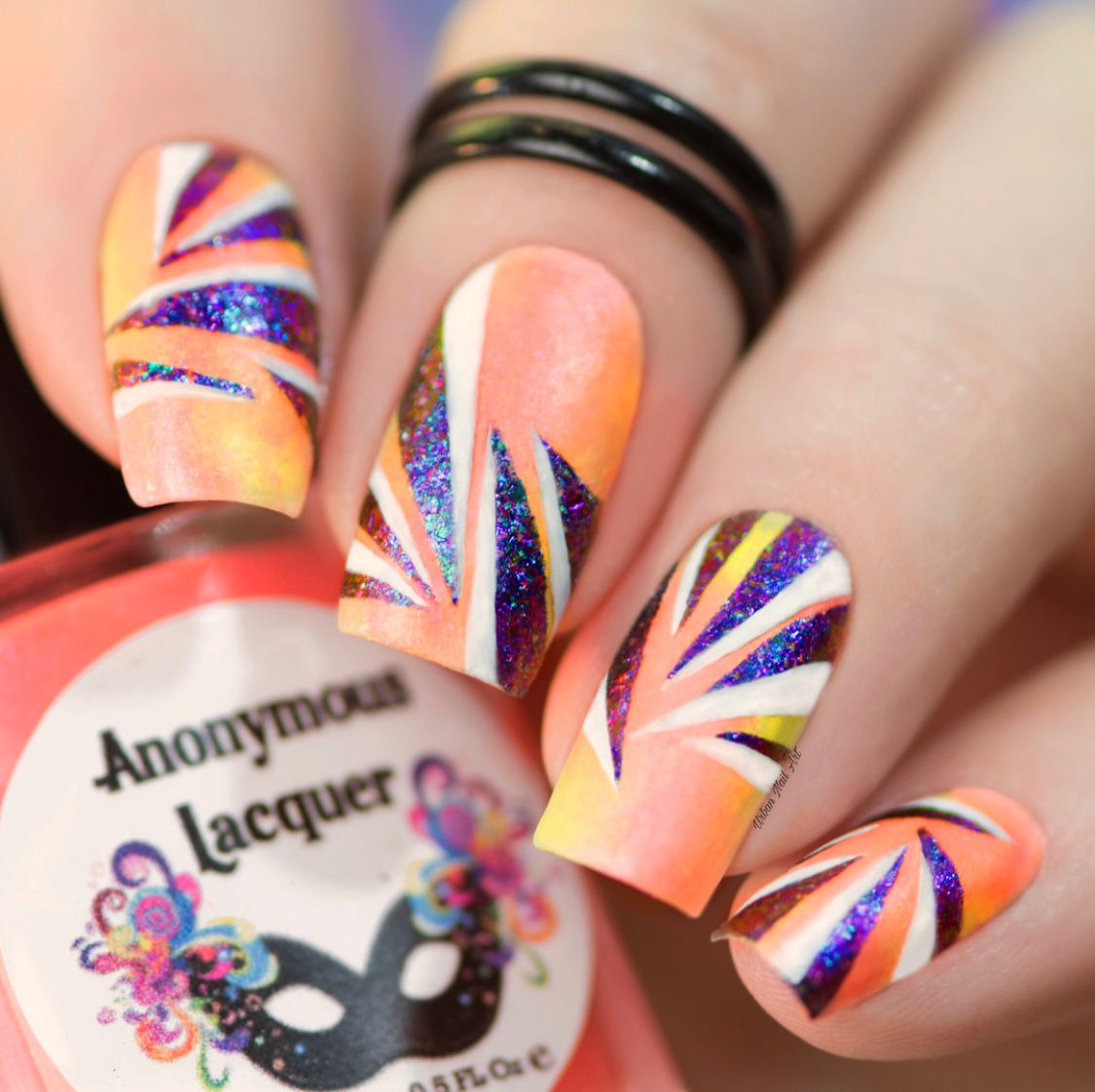 Mitty Shattered Galaxy Nail Art Powder | Galaxy nail art, Galaxy ...