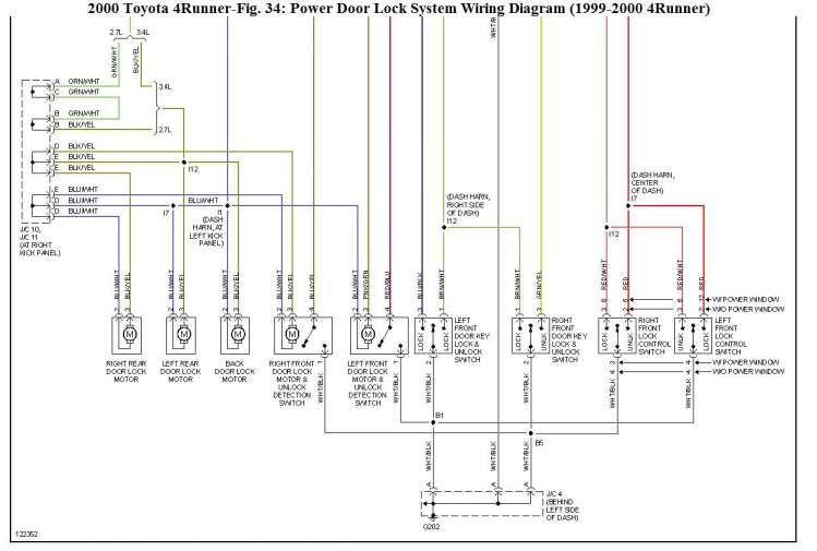 15 99 Toyota 4runner Electrical Wiring Diagram Wiring Diagram Wiringg Net Toyota 4runner Electrical Wiring Diagram Toyota Runner
