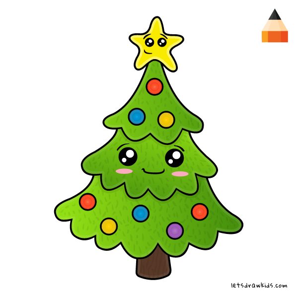 600x600 Kids Christmas Tree Drawing In 2020 Christmas Tree Drawing Super Coloring Pages Drawings