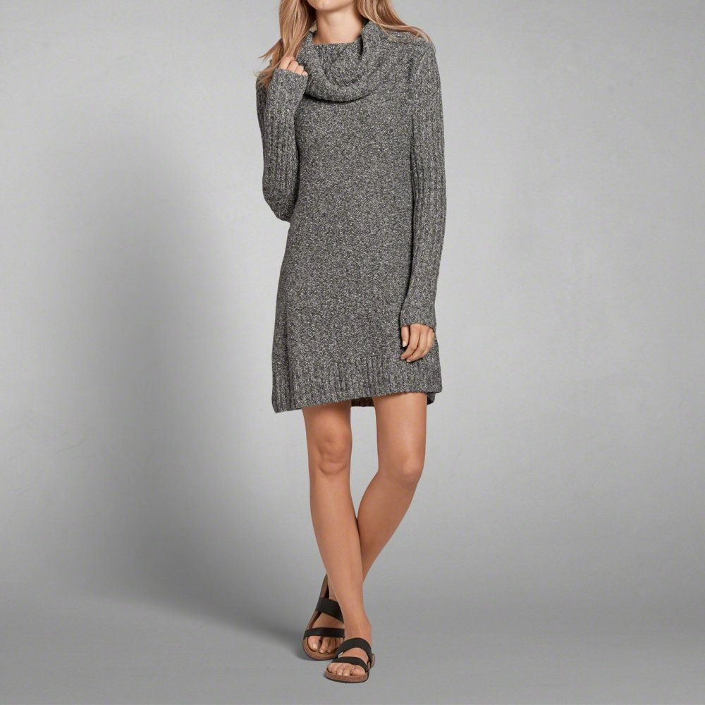 Womens Turtleneck Sweater Dress | Womens Dresses & Rompers ...
