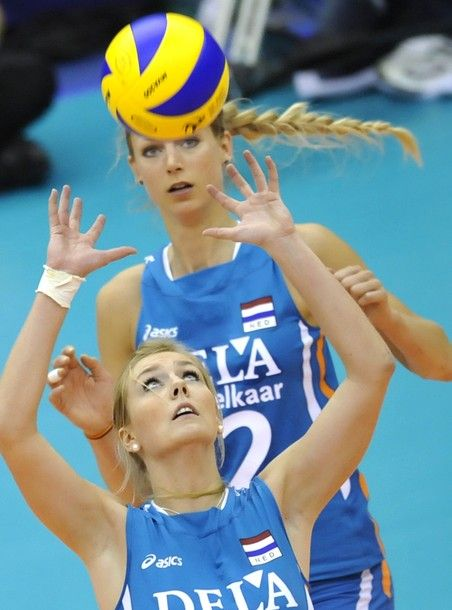 Laura Dijkema Volleyball Player Setter Netherlands Team And Halkbank Ankara Turkey Female Volleyball Players Volleyball Players Women Volleyball