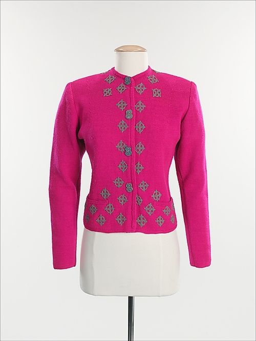 Sweater  Elsa Schiaparelli, 1938-1940  The Metropolitan Museum of Art