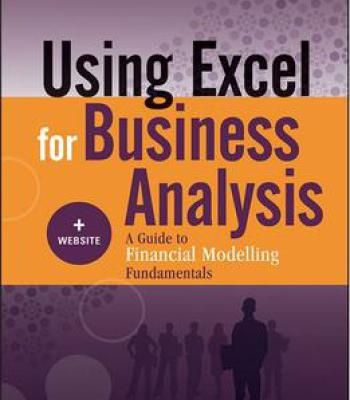 Using Excel For Business Analysis + Website A Guide To Financial - business analysis