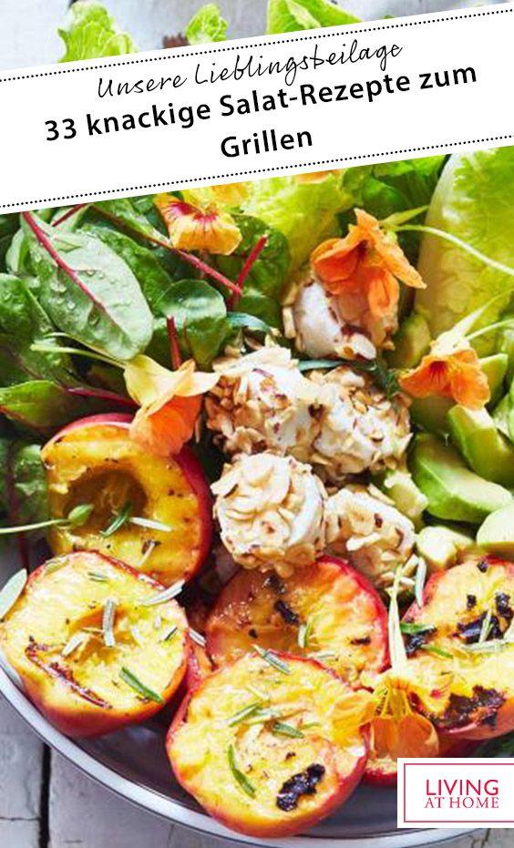 33 knackige Salat-Rezepte zum Grillen