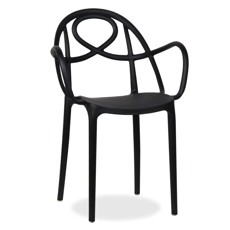 Design-Stuhl, aus Polypropylen gefertigt. Für draußen oder drinnen ...